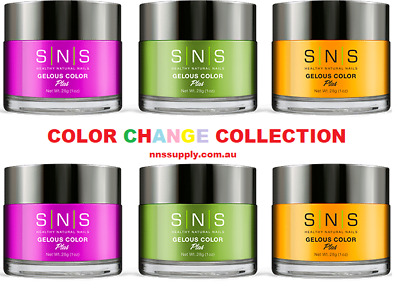 SNS Dipping Powder -  COLOR | MOOD CHANGE | Nail System | Choose Colours | 1Oz