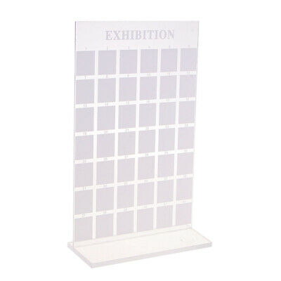 42 Grids Acrylic Nail Art Display Stand Nail Tips Show Salon Manicure Tools