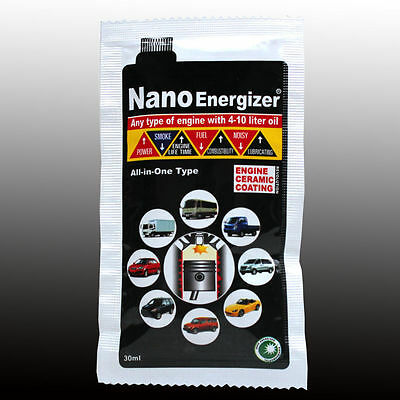 NANO 30 ML oil additive which helps prolong engine's life ADD special stuff BHP+