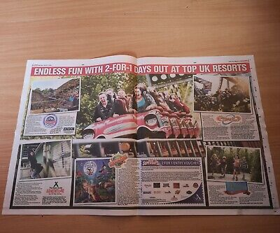2 for 1 Merlin Entry Voucher to Alton Towers/Legoland/Madam Tussards/Sea life