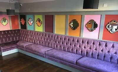 Fixed/ Booth Seating & Upholstery Services For Bars/restaurant/pubs/home QUOTE
