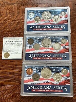Americana Series: Vanishing Classics, Yesteryear, & Presidents Collection 3 Sets