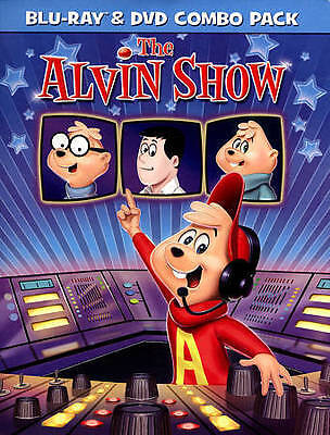 THE ALVIN SHOW (Blu-ray/DVD 2-Disc Set) & the chipmunks dave simon theodore NEW