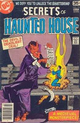 Secrets of Haunted House #10 in Very Fine minus condition. DC comics [*8g]