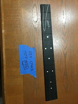 Ebony Guitar Fingerboard M36 25.4 Luthier Parts Luthier Supply