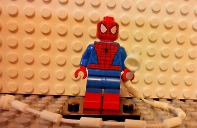 MARVEL lego SPIDERMAN super heroes GENUINE minifig NEW red boot 76037 spider-man