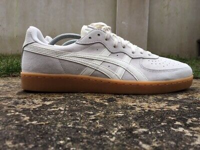 separation shoes e592f e085d ASICS ONITSUKA TIGER GSM Cream Size 10 UK Mens Trainers EU 45 DKK1L Suede  NEW