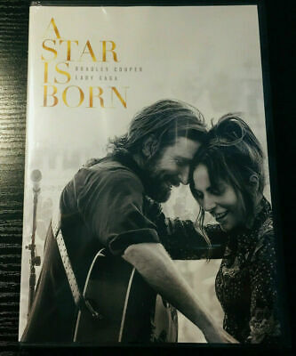 A Star is Born (DVD, 2019) BRAND NEW - FREE SHIPPING TO THE US!!!