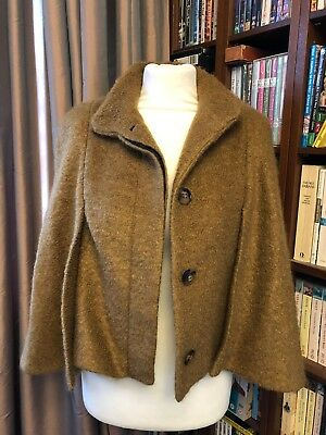 09876968 ZARA WOMEN'S WOOL Coat In Camel Size Small - $75.00 | PicClick