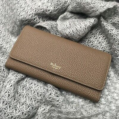 9f26f7991e9 NEW Mulberry Continental Wallet Clay Classic Grain Leather - Gift for Her  BNIB