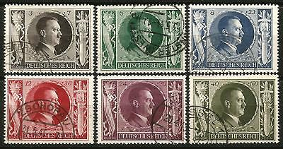 Germany Third Reich 1943 Used - Hitler's 54th Birthday