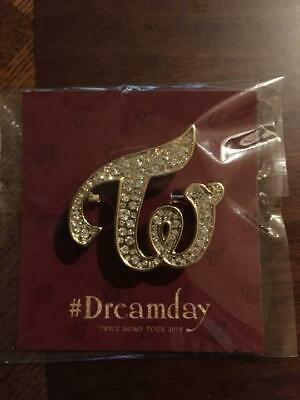TWICE DOME TOUR 2019 #Dreamday Brooch dream day official goods ONCE