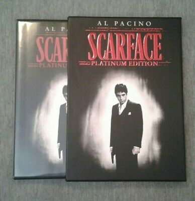 SCARFACE Platinum Edition 2 Disc DVD Al Pacino