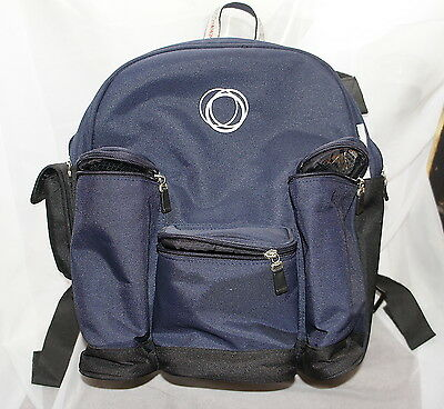 Bugaboo Stroller Diaper Bag Pack Blue NICE no rips no tears MAY NEED MINOR CLEAN
