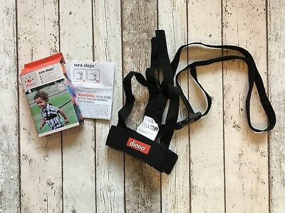 Diono Sure Steps Toddler Security Walking Harness Reins 2-4 Years