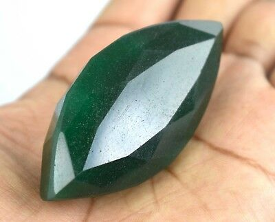Natural Marquise Cut 321.30 Ct Brazilian Green Emerald Loose Gemstone Best Offer