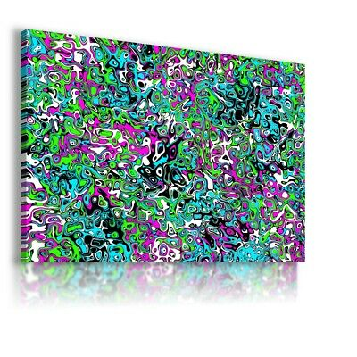 Colorful Pattern Modern Abstract Canvas Wall Art Picture Large Ws133 Unframed