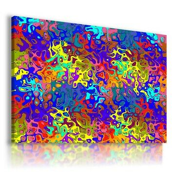 Colorful Pattern Modern Abstract Canvas Wall Art Picture Large Ws135 Unframed