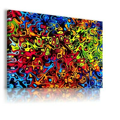 Colorful Pattern Modern Abstract Canvas Wall Art Picture Large Ws146 Unframed