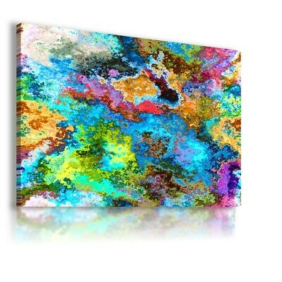 Colorful Pattern Modern Abstract Canvas Wall Art Picture Large Ws149 Unframed