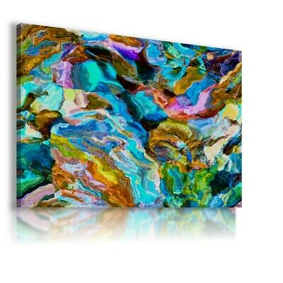 Colorful Pattern Modern Abstract Canvas Wall Art Picture Large Ws150 Unframed