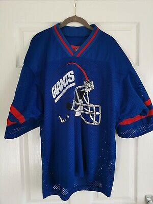 NFL New York Giants Jersey Adult Large Used Official American Football Shirt 9a8171800b7