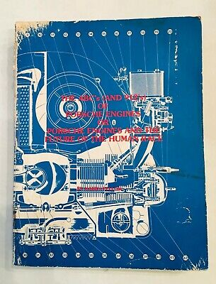 ABC's 912's of Porsche Engines & Future of the Human Race Harry Pellow 356 Book