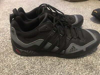 official photos 3b8b2 56f17 Adidas Terrex Swift Solo D67031 Black Men Shoes Outdoor Trekking Walking