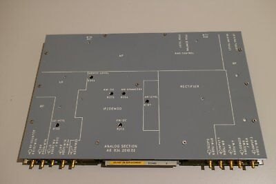 Rohde & Schwarz R&S Analog Section A6 Spare Part CMTA 0834.2010.02