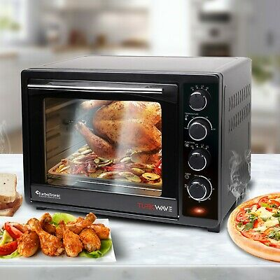 TurboTronic 35L Electric Oven 1600W For Baking/Reheating/Grilling 60 min timer
