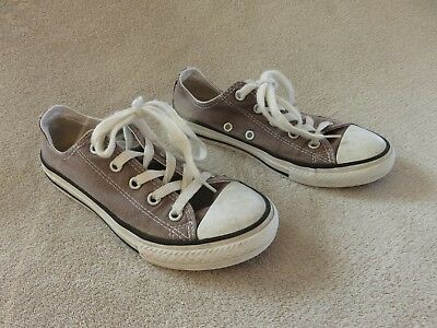 9209377ffc78d BASKET BASSES GRIS ♥ Converse All Star ♥ Taille 32 Ttbe +++ ...