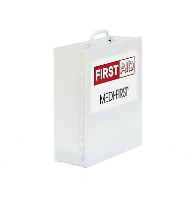 Medi-First Products 734ANSI Filled 4 Shelf Wall Mounted First Aid Kit (EXP 2/19)