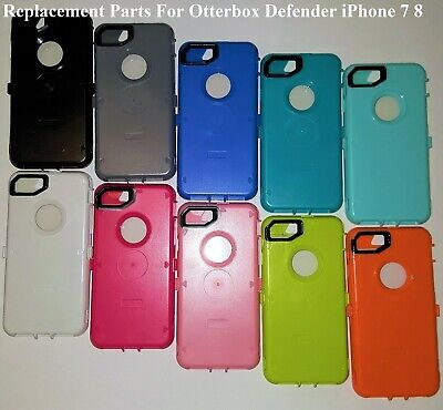 iPhone 7 8 For Replacement Inner Plastic Shell+Screen Fit OtterBox Defender Case