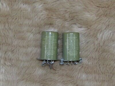 PAIR VINTAGE TRIAD AUDIO INPUT TRANSFORMERS 10k TO 600 OHM HIFI RECORD PREAMP