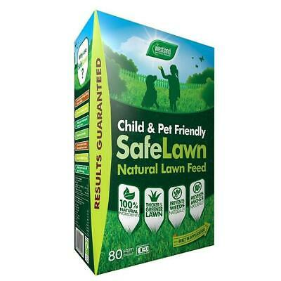Westland Safe Lawn Natural Lawn Feed 80m2 Child and Pet Friendly Lawn Care