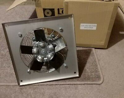 ATEX Explosion Proof EX Extractor Fan including Louvre shutter