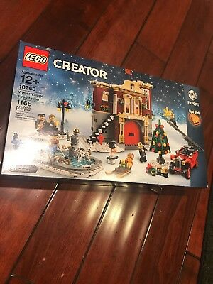LEGO Creator Expert 10263 Winter Village Fire Station (1,166 Pieces) NEW SEALED