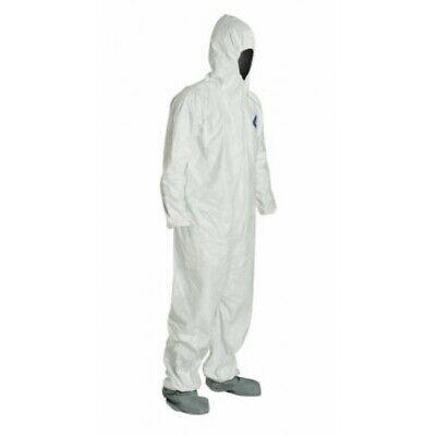 Dupont TY122S Tyvek Disposable Coverall Bunny Suit Hood/Boots Various Quantities