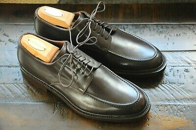 Santoni Goodyear Welt NEW All Leather US 9 Brown Hand Made Oxfords  800 ff43f5f25b2