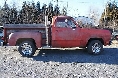 "1979 Dodge Other Pickups ""Lil"" Red Express"" PROJECT . Rare Lil Red Express !  Overall Solid Truck  *Restore / Make Driver *"