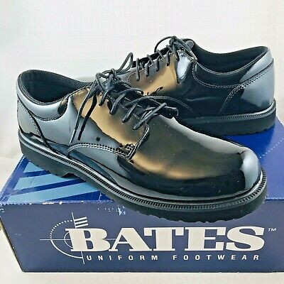 Bates Mens High Gloss Black Dress Shoes 12 M Formal for Military Police Fire e0a2ff42fe7