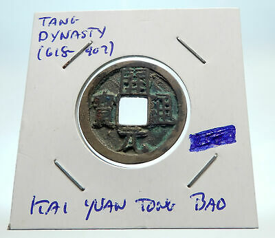 618-907AD CHINESE TANG Dynasty OLD Genuine Antique Cash Coin of CHINA i76260