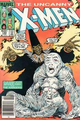 Uncanny X-Men (1981 series) #190 in NM minus condition. Marvel comics [*cy]