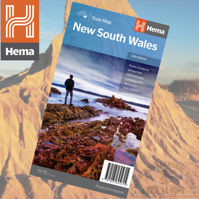 Hema Maps New South Wales State Map 14th ED (625615)