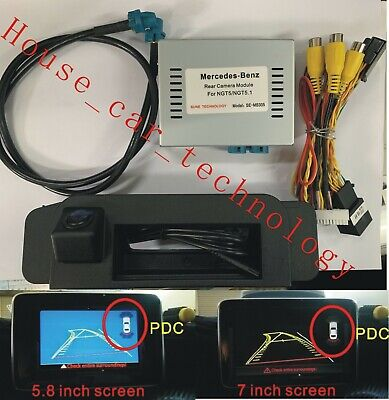 Mercedes PAS+PDC with handle rear view camera for CLA/C(W205) CLASS NTG5/NTG5.1