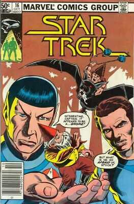 Star Trek (1980 series) #16 in Very Fine condition. Marvel comics [*6w]