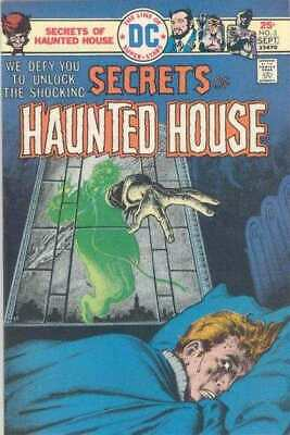 Secrets of Haunted House #3 in Fine minus condition. DC comics [*8v]
