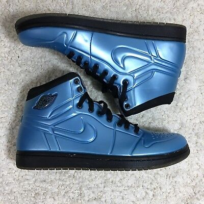 the latest 52d9b cbb86 Nike Air Jordan 1 Anodized Foamposite Armor 10 University Blue 414823-401