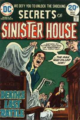 Secrets of Sinister House #17 in Fine condition. DC comics [*m2]