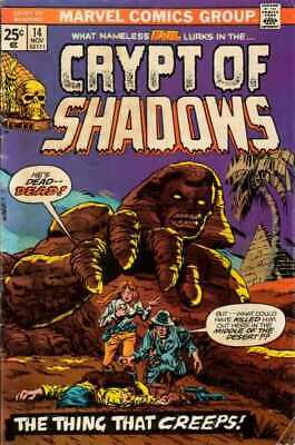 Crypt of Shadows (1973 series) #14 in VF minus condition. Marvel comics [*87]
